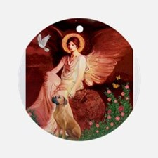 Angel / R Ridgeback Ornament (Round)