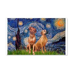Starry / Rhodesian Ridgeback Wall Decal