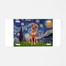 Starry / R Ridgeback Aluminum License Plate