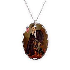 Lincoln's Rottweiler Necklace