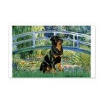 Bridge / Rottie 20x12 Wall Decal