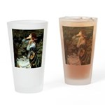 Ophelia/Rottweiler Drinking Glass