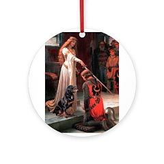 Accolade / Rottweiler Ornament (Round)