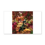 The Path / Rottie 20x12 Wall Decal