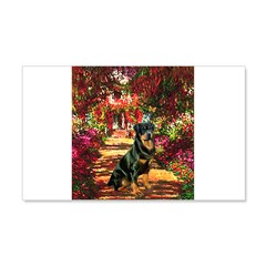 The Path / Rottie Wall Decal