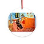 Room / Rottweiler Ornament (Round)