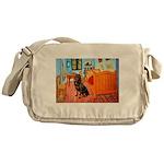 Room / Rottweiler Messenger Bag