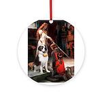 Accolade / St Bernard Ornament (Round)