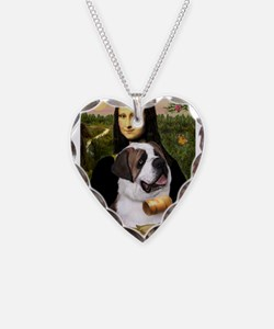 Mona / Saint Bernard Necklace
