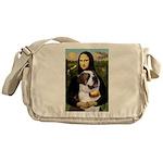 Mona / Saint Bernard Messenger Bag