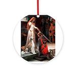 Accolade / Saluki Ornament (Round)