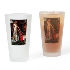Accolade / Saluki Drinking Glass