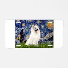 Starry / Samoyed Aluminum License Plate