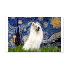 Starry / Samoyed Wall Decal