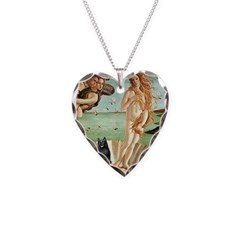 Venus / Schipperke #5 Necklace Heart Charm