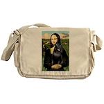 Mona's Schipperke (#5) Messenger Bag