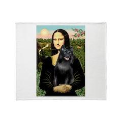 Mona's Schipperke (#5) Throw Blanket