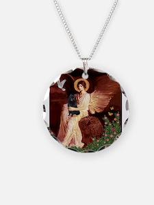 Angel (#1) & Schipperke Necklace