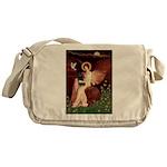 Angel (#1) & Schipperke Messenger Bag
