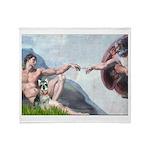 Creation / Schnauzer (#8) Throw Blanket