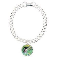 Irises / Miniature Schnauzer Bracelet