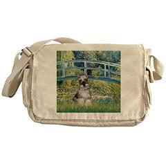 Bridge / Miniature Schnauzer Messenger Bag