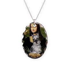 Mona Lisa's Schnauzer (#1) Necklace