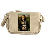 Mona Lisa's Schnauzer (#6) Messenger Bag