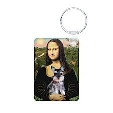 Mona Lisa's Schnauzer Puppy Keychains