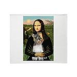 Mona / M Schnauzer Throw Blanket