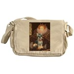 Elizabeth / Min Schnauzer Messenger Bag