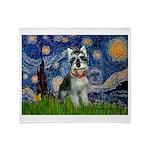 Starry Night /Schnauzer(#8) Throw Blanket