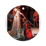 Accolade / Schnauzer (#8) Ornament (Round)