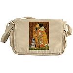 Kiss / Schnauzer (#7) Messenger Bag