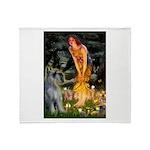 Fairies / G Schnauzer Throw Blanket