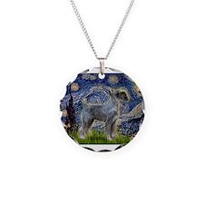 Starry Night PS Giant Schnauz Necklace