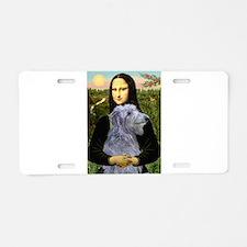 Mona /Scot Deerhound Aluminum License Plate