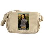 Mona /Scot Deerhound Messenger Bag