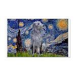 Starry /Scot Deerhound 20x12 Wall Decal