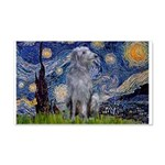 Starry /Scot Deerhound 20x12 Wall Decal