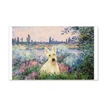 Seine / Scottie (w) 20x12 Wall Decal