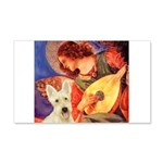Mandolin / Scottie (w) 20x12 Wall Decal