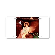 Angel / Scottie (w) Aluminum License Plate