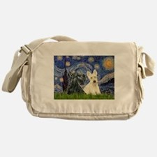 Starry /Scotty pair Messenger Bag