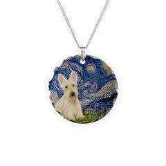 Starry Night / Scottie (w) Necklace