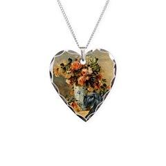 Vase / Scottie (blk) Necklace