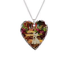 Path / Scottie (w) Necklace Heart Charm