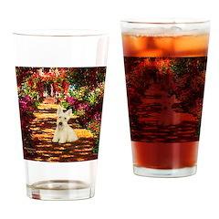 Path / Scottie (w) Drinking Glass