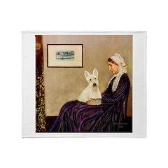 Whistlers / Scottie (w) Throw Blanket
