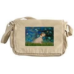 Lilies (#3) / Sealyham (L1) Messenger Bag